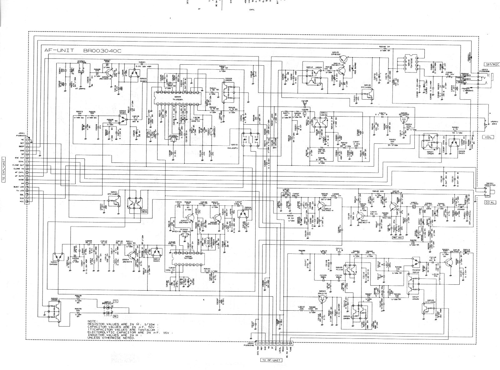 YAESU VX 5 Schematic a index of pub radio_manuals yaesu Yaesu G-450A at sewacar.co