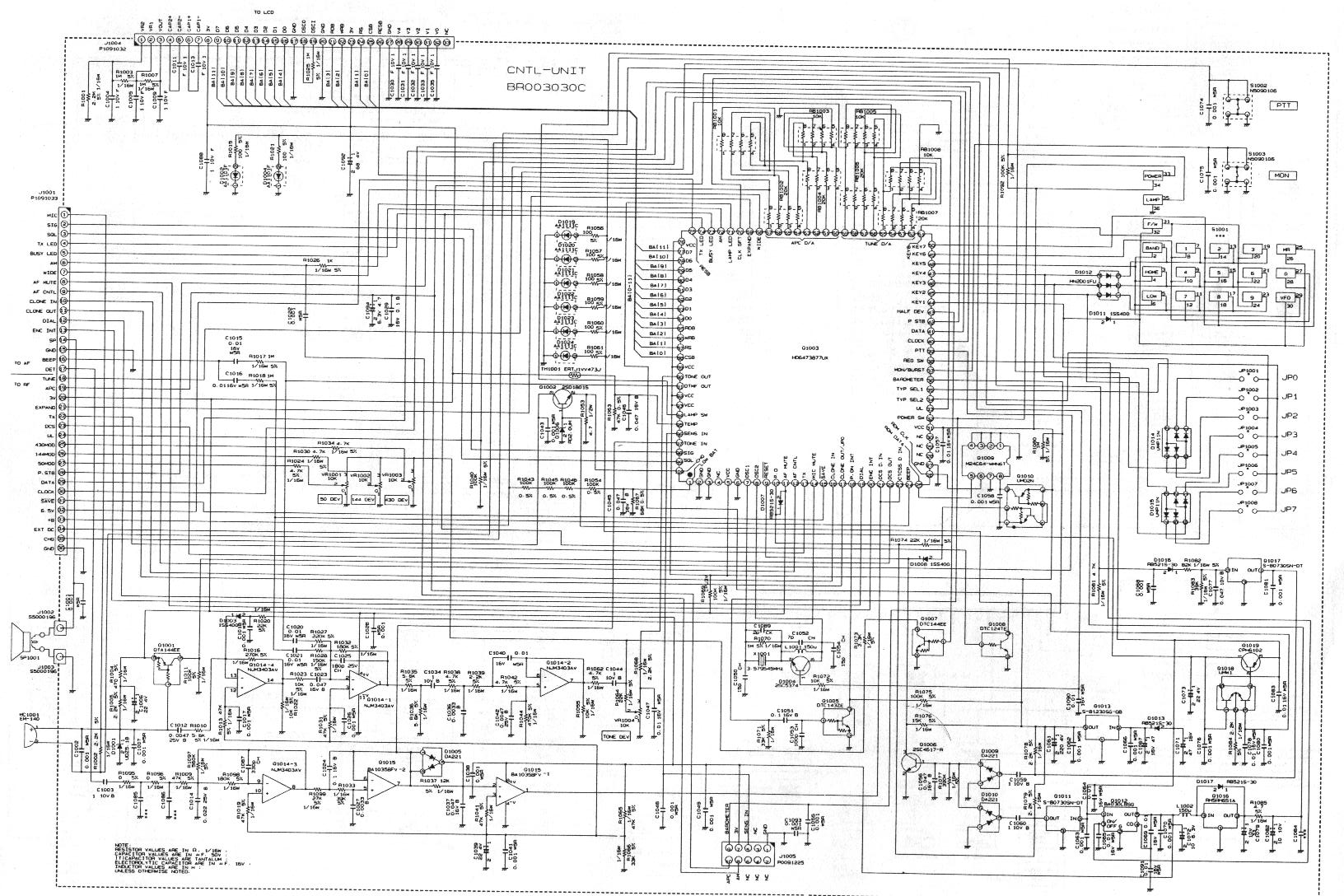YAESU VX 5 Schematic b index of pub radio_manuals yaesu Yaesu G-450A at n-0.co